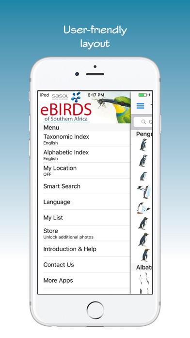Sasol Ebirds review screenshots