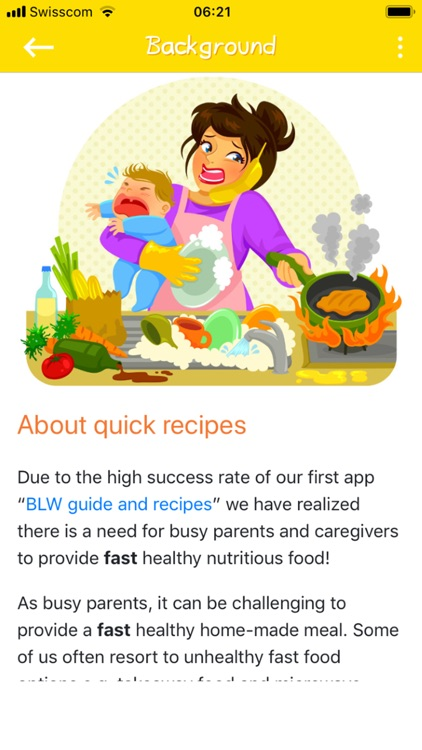 Baby Led Weaning Quick Recipes screenshot-5