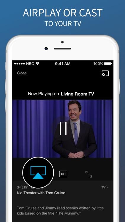 The NBC App – Stream TV Shows screenshot-3