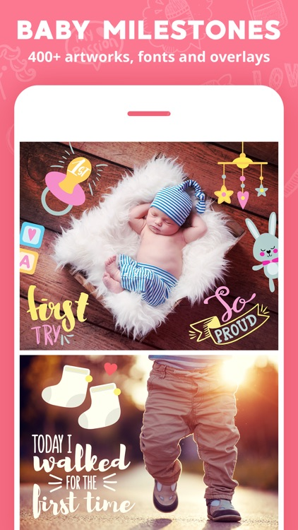 Lil Pics - baby photo app screenshot-2