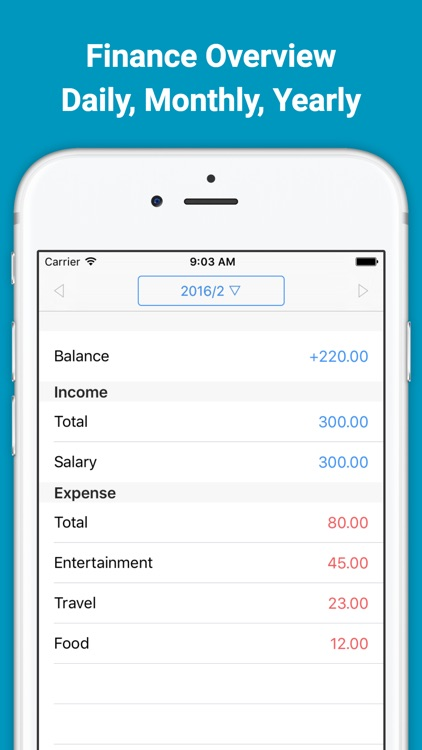 Income & Expense Tracker Zeny screenshot-3