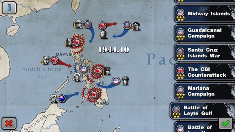 Glory of Generals: Pacific War screenshot-3