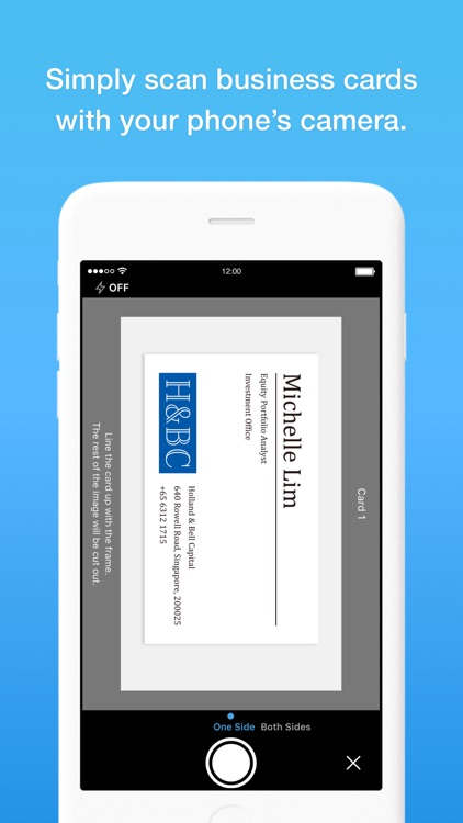 Eight - Manage Business Cards