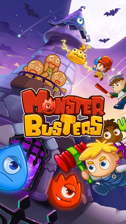 Monster Busters:Match 3 Puzzle screenshot-4