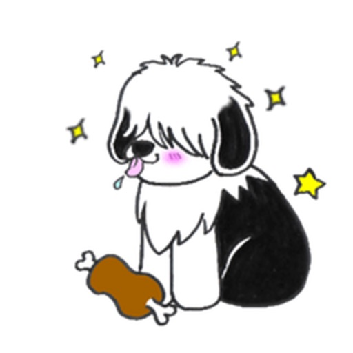 Shaggy Dog ShaggyMoji Sticker