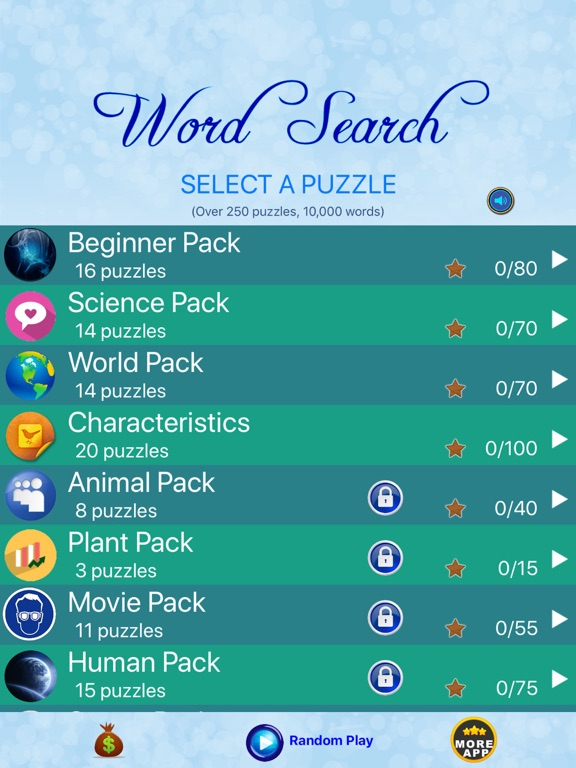 Word Search - Find Crosswords-ipad-2