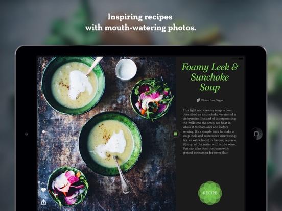 Green Kitchen – healthy vegetarian recipes screenshot