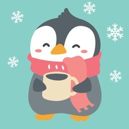 Lovely Penguin - Stickers