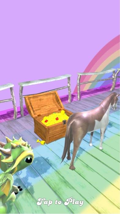 Unicorn Rainbow Runner
