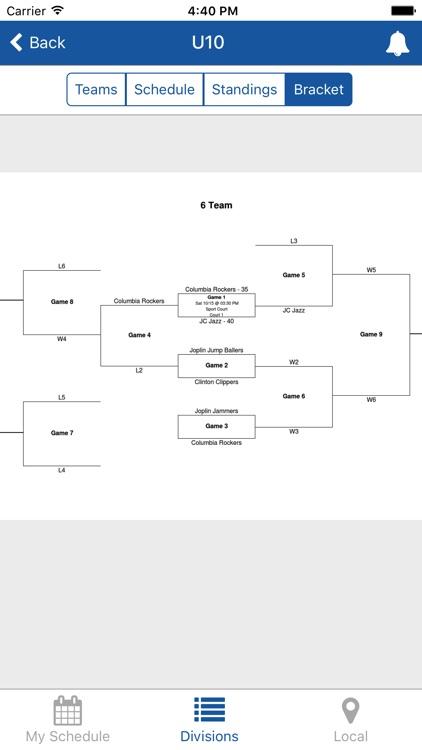 TeamSnap Tournaments screenshot-3
