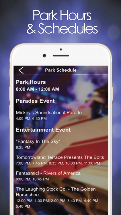 Park Planner for Disneyland screenshot-3