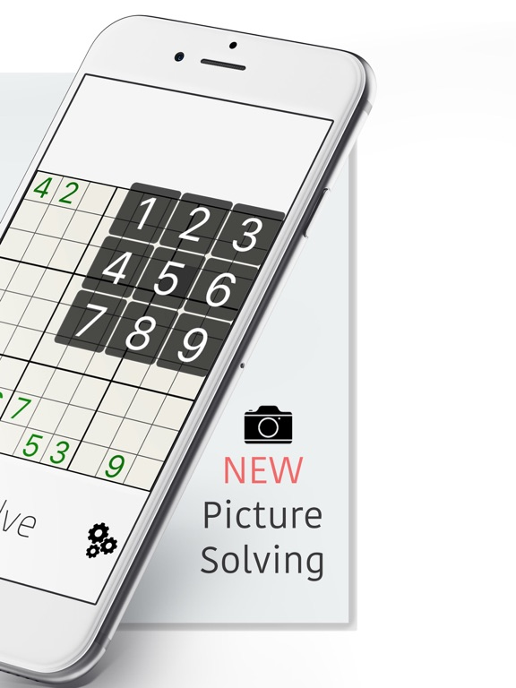 Free Sudoku Solver: Enter to Hint, Solve, Make, or Play screenshot