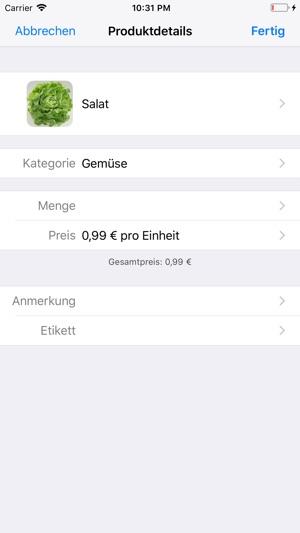 ShoppingList (Einkaufsliste) im App Store