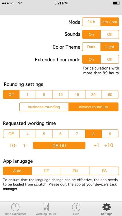 Time.Calc screenshot-3