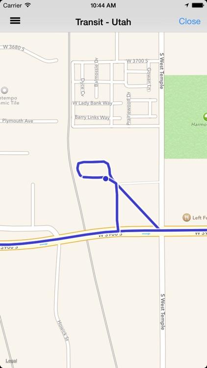 Transit Tracker - Utah (UTA) screenshot-3