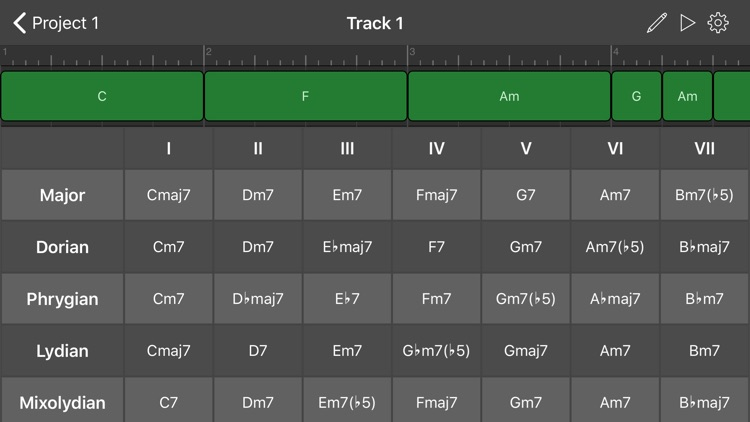 ChordBud - Chord Progressions screenshot-1