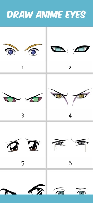how to draw anime eyes on the app store