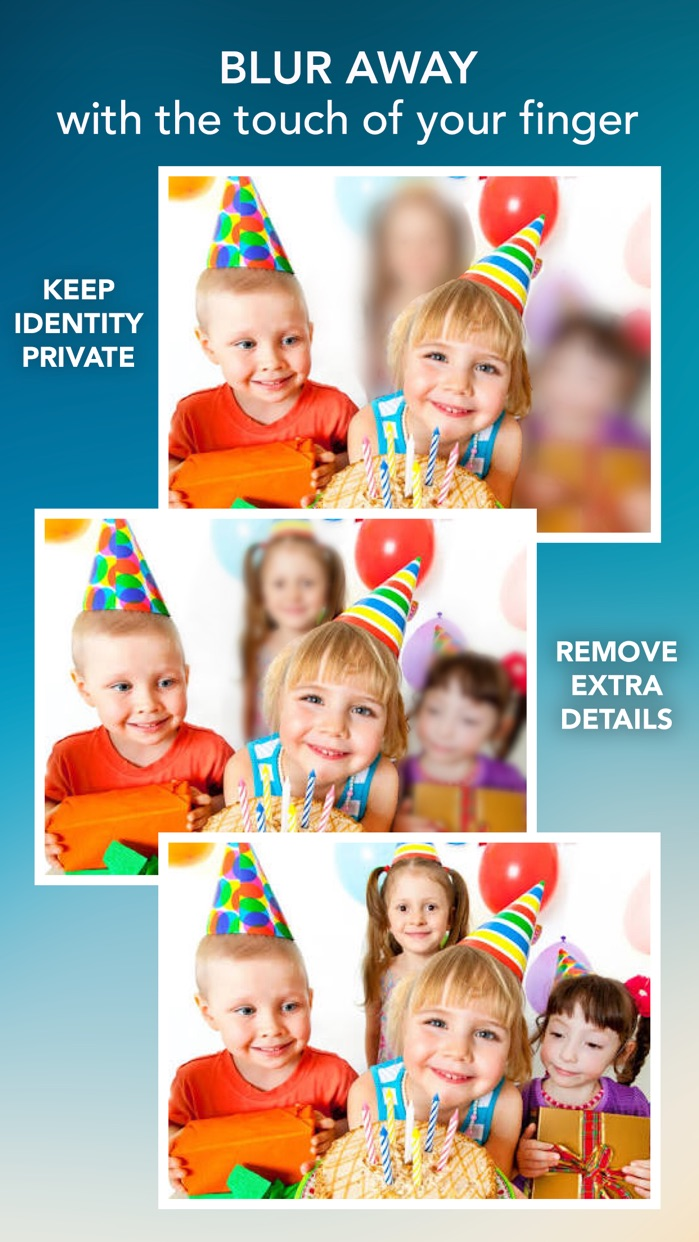 Blur Photo Effect - Touch to Edit Image Background, Hide or Censor Face with Blurred, Mosaic & Pixelated Filters Screenshot