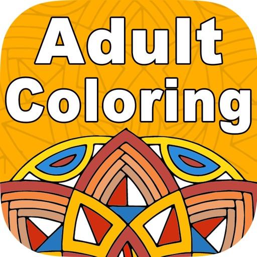 Mandala Coloring Book Paint Games