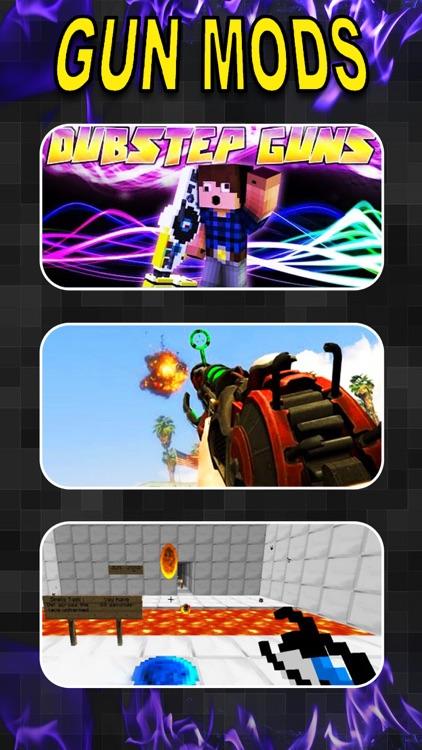 Gun Mods PRO - Best Pocket Wiki & Game Tools for Minecraft PC Edition