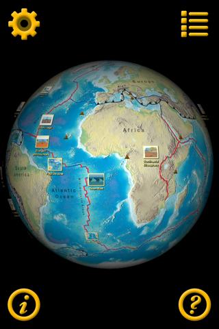 Plate Tectonics Visual Glossary and Atlas - náhled