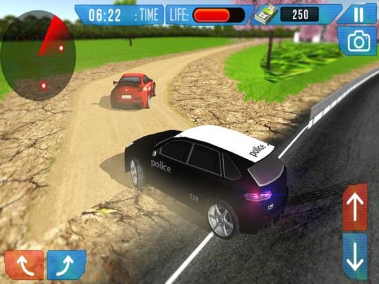 Полицейская машина Экстремальные Вне дорог Драйвер 3D имитатор - Драйв в Менты автомобиль на iPad