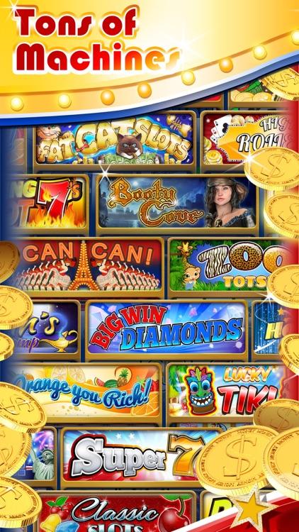 Slots: 3-Reel Slots Deluxe – All New, Real Vegas Casino Slot Machines screenshot-3