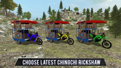 Chingchi Rickshaw Tuk Tuk