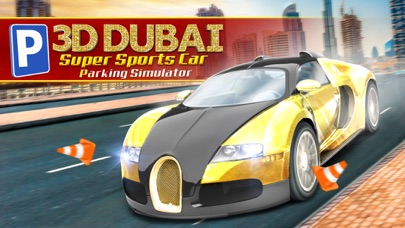 3D Dubai Parking Simulator Drive Real Extreme Super Sports Carのおすすめ画像1