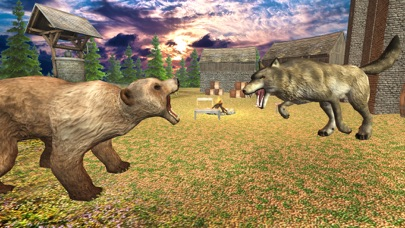 Wild Wolf Attack Adventure 3D - Wild  Beast wolf Revenge From Animals screenshot four