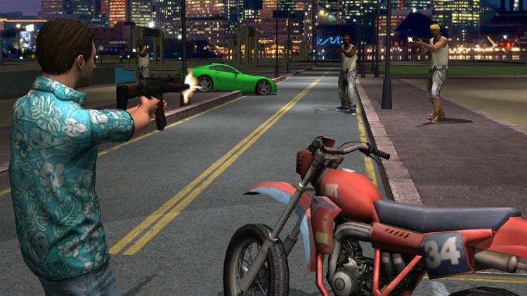 City Gangster Combat the Gun Shot