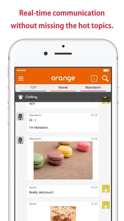 orange - Conversation