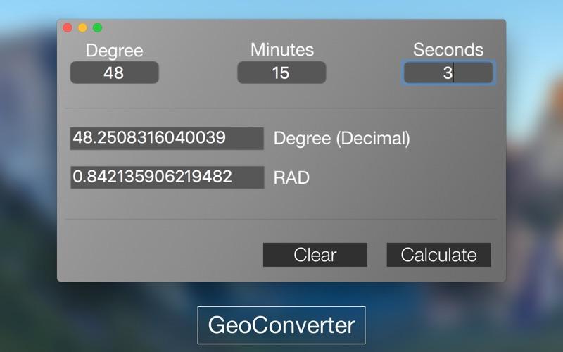 GeoConverter for Mac