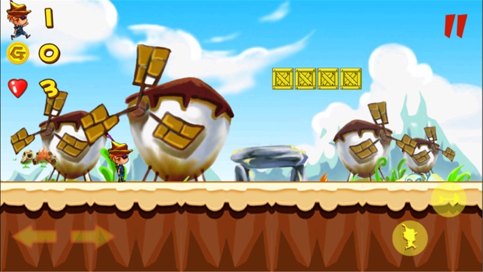 Forest Adventure Classic:Best Free Jumping Game Screenshot