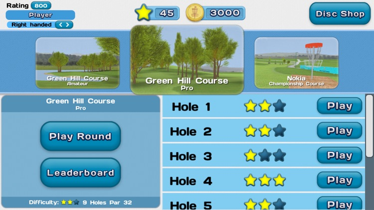 Disc Golf Game screenshot-4
