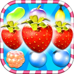 gummy juice berry crush : match 3 games free