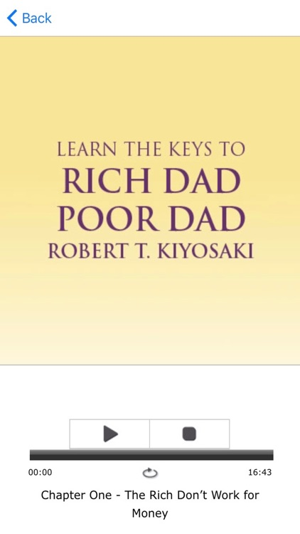 Rich Dad Poor Dad Meditation AudioBook By Robert T. Kiyosaki screenshot-3