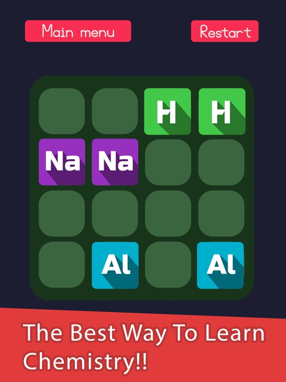 2048 in periodic table a chemistry puzzle game app price drops screenshot 1 for 2048 in periodic table a chemistry puzzle game urtaz Gallery