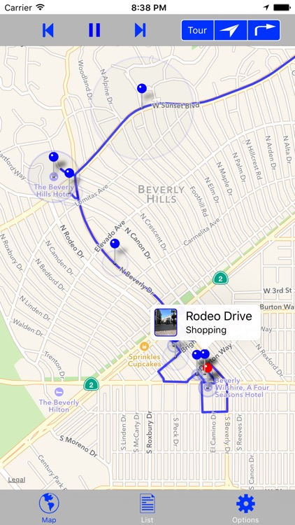 Hollywood & Beverly Hills GPS Audio Tour screenshot-4