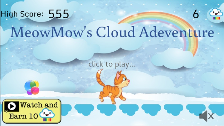 MeowMow's Cloud Adventure screenshot-3