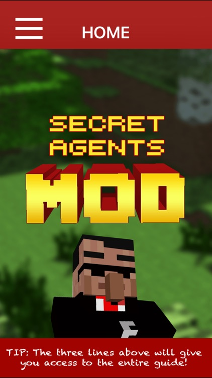 SECRET AGENTS MOD - Secret Agents Mod For Minecraft PC Pocket Guide Edition