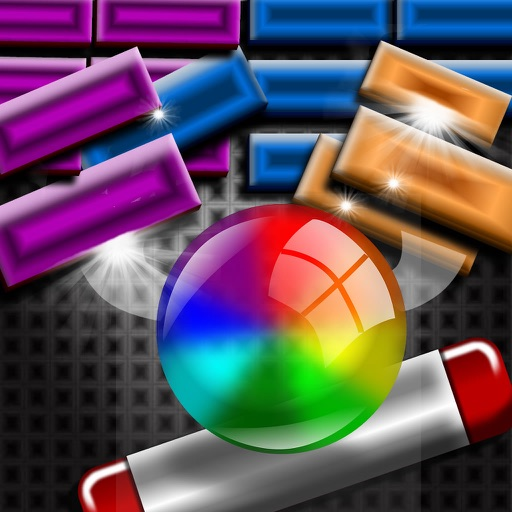 Brick Breaker By Sphere Color - Best Old-Fashioned Bricks Game icon