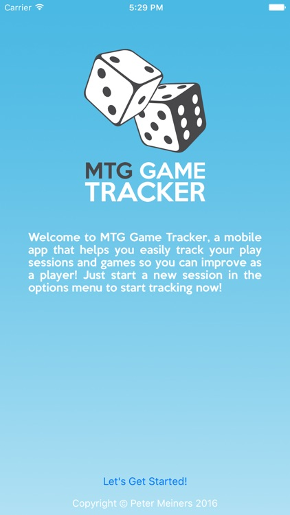 Game Tracker and Life Counter for Magic: the Gathering, MTG
