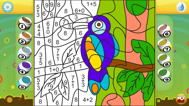Color by Numbers - Animals - Free