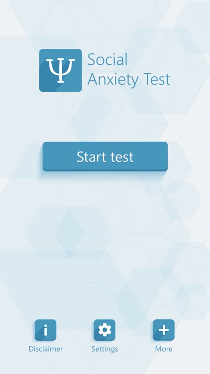 Social Anxiety Test - Psychological Test