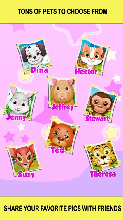 Baby Pet Hair Salon Makeover Girls Games
