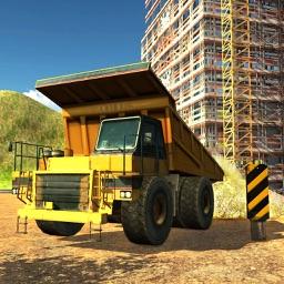 Dumper Truck – 3D Transporter Crane Operator