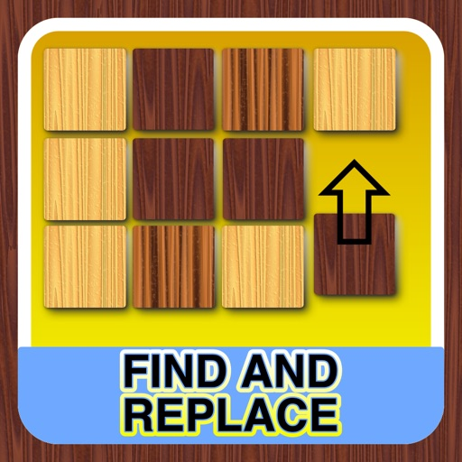 Find and replace - The puzzle of wood - Free
