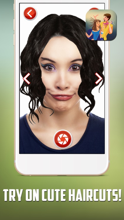 Hairstyles Makeover Salon – Virtual Hair.Cut & Color Edit.or and ...