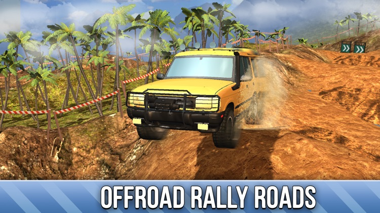 SUV 4x4 Rally Driving Full - Be a truck driver! screenshot-2